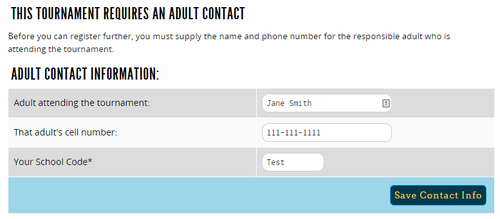 Adult contact phone numbers